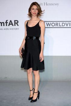 Sofia Coppola in Balenciaga attends the amfAR Cannes Film Festival Gala 2014