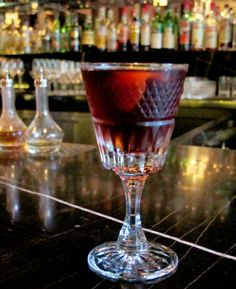 The Before and After (Buffalo Trace Bourbon, Aperol, Luxardo Abano Amaro) at Quince is the perfect place to start, an aperitif cocktail that is a slight twist on a Boulevardier (the Negroni's whiskey-based cousin).