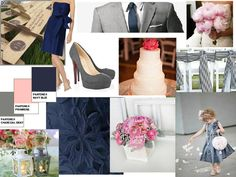 Love the dark blue, grey and pink scheme. Nice balance of masculine and feminine.