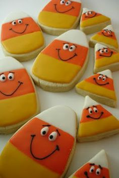 Candy Corn Cookies !