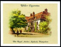 Cigarette Card - The Royal Anchor, Liphook