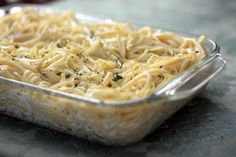 Lauren's Kitchen: Pioneer Woman's Baked Lemon Spaghetti