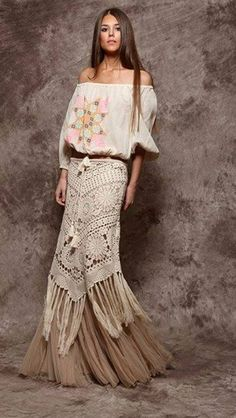 Crochet at its very best! this is exquisite! Queen of Bohemia