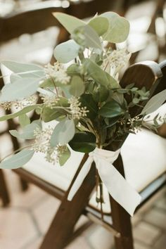 chic eucalyptus wedding aisle decoration ideas