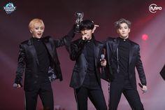 Xiumin, Baekhyun and Suho EXO