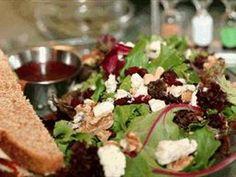 Kristen's Salad (Harvest Salad) with Pomegranate dressing
