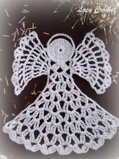 Christmas ideas - crochet angel pattern