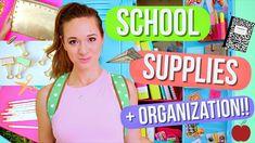 DIY School Supplies + Locker Organization!! Alisha Marie