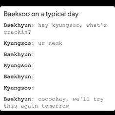 Exo | Baekhyun and Satansoo