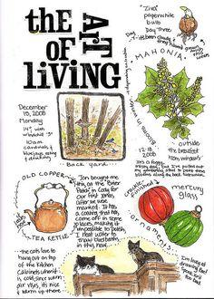 Lovely!  Journaling life - naturegirl64