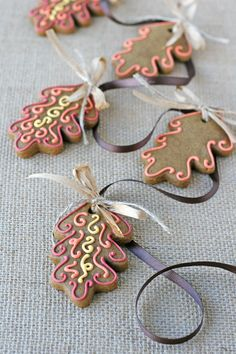 Fall Gingerbread Cookie Garland - by Glorious Treats