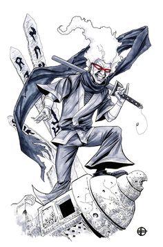 Afro Samurai - Ninja Ninja by BrettBarkley
