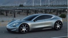 Henrik Fisker has taken the wraps off the new Fisker EMotion electric sedan he says will compete head to head with the Tesla Model S. Fisker made his reputation as an automotive designer and the ne… Henrik Fisker, Audi, E Motion, Self Driving, Limousine, Electric Cars, Electric Vehicle, Automotive Design, Car Ins
