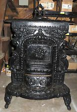 Victorian parlor stove