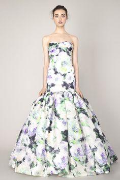 15 Floral Wedding Dresses | Alternative Wedding Dresses | Bridal Musings Wedding Blog 4
