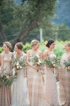 Mismatched bridesmaid dresses we love - Love4Wed