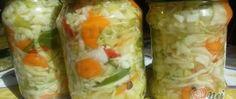 Recept Nejlepší domácí čalamáda bez zavařování Fresh Rolls, Pickles, Cucumber, Ale, Ethnic Recipes, Food, Mascarpone, Cucumber Salad Sour Cream, Home Canning