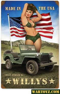 Made in the USA - Loved in Canada - JEEP