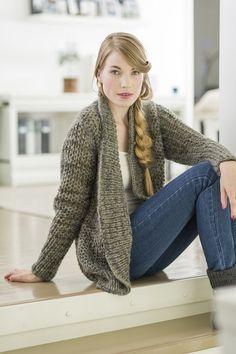Naisen neuletakki Novita Lehto - Novita knits