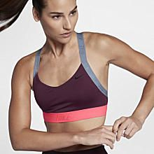 Top Nike Indy Logo Back Feminino Floral Sports Bras, Women's Sports Bras, Sports Bra Sizing, Top Nike, Cheer Practice Outfits, Nike Bra, Womens Bralette, High Support Sports Bra, Running Fashion