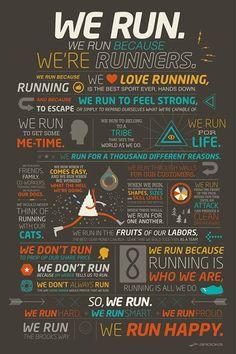 We Run.