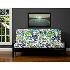 SIS Cover Bali Futon Cover Fabric (Removable futon cover fabric only. Futon frame and futon mattress sold separately) - Full The Bali full futon cover is a