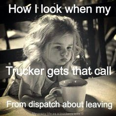 Being a Truckers Wife | Via Leah