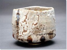 Elena Renker  shino tea bowl  For me she is simply the best - her chawan are outstanding beautiful!