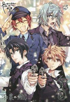 『ふろく/サイン入り「アイドリッシュセブン」生写真風カード』 Cute Anime Boy, Anime Guys, Manga Anime, Anime Art, Anime Siblings, Anime Music, Boy Pictures, Manga Games, Games For Girls