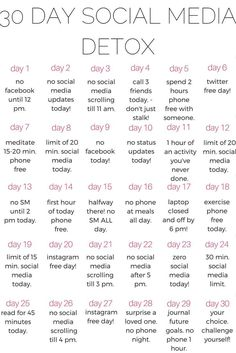 A healthy life: why you should do a 30 day social media DETOX - ka...