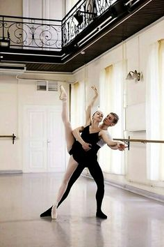 class Pas de Deux /students at the Vaganova Ballet Academy