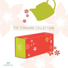 Happy April! We're excited to announce the release of The Sunshine Collection; 6 flavorful teas to sip all season long. It's the perfect gift for Mother's Day or any day you need a cheerful boost. Contact your Consultant for details #steepedtea #gifts http://www.steepedtea.com