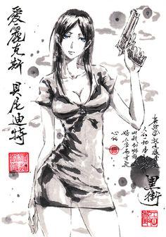 ギャングスタ #GANGSTA. par #極限の道 #Fanart #anime