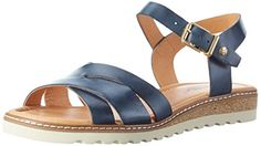 efa8a108a Pikolinos Women s Alcudia W1l v17 Wedge Heels Sandals  Amazon.co.uk  Shoes    Bags