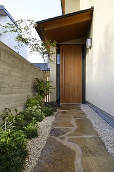 TSC Architects have designed a minimalistic house situated in Hinomiya