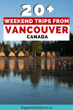 Planning a quick weekend getaway from Vancouver, Canada? Get some inspiration from this list of over 20 beautiful places to go within a few hours of Vancouver. Visit the beaches of Vancouver Island, the snowy mountains in the Sea to Sky region or the vineyards of the Okanagan. Plus other off-the-beaten-path destinations you haven't heard of. Plan your next weekend trip from Vancouver with this guide. Trips from Vancouver, BC. Getaways from Vancouver. Where to go for the weekend from Vancouver. Quick Weekend Getaways, Weekend Trips, Vancouver Travel, Vancouver Island, Canadian Travel, Canadian Rockies, Canada Cruise, Family Road Trips, Adventure Activities