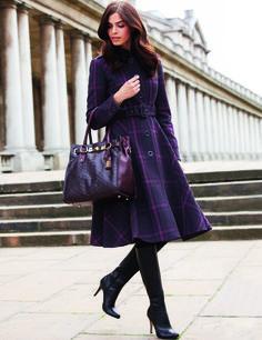 Lovely winter coat!