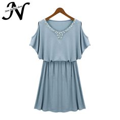 Free Shipping New Women Summer Dresses 2015 European Style Fashion Brief Strapless A-Line Mini Casual Summer Dress Blue Gray 134