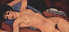 Nu Couche 1917, Amedeo Modigliani