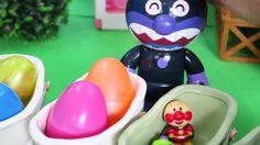アンパンマン おもちゃアニメ ばいきんまん お風呂deタマゴ Surprise Eggs Bath Time!Smart Toy