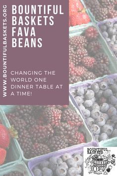 Learn a new way to prepare your Fava Beans! #favabeans Fall Recipes, Whole Food Recipes, Healthy Recipes, Bountiful Baskets, Clean Eating, Healthy Eating, Apple Pear, Some Recipe, Recipe Collection