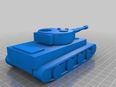 Tiger I by PanzerKorpsIVXX - Thingiverse