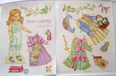 Mein Liebling Paper Doll by Karen Reilly 2007