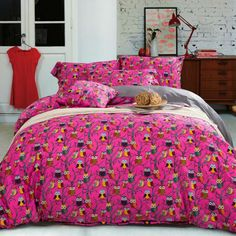 Best price on Owls Print Bedding Sets Queen King Full Double Bed Cotton Fabric //    Price: $ 139.80  & Free Shipping Worldwide //    See details here: http://mrowlie.com/owls-print-bedding-sets-queen-king-full-double-bed-cotton-fabric/ //    #owl #owlnecklaces #owljewelry #owlwallstickers #owlstickers #owltoys #toys #owlcostumes #owlphone #phonecase #womanclothing #mensclothing #earrings #owlwatches #mrowlie #owlporcelain