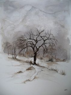 L'isolé #tree #art