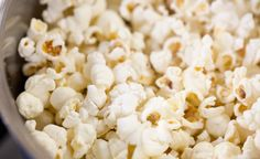 Trick to perfectly popped popcorn on the stove-top. :)