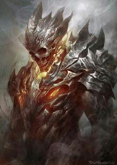 Flame metal skuul