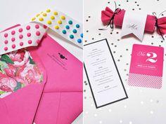 Future birthday party ideas. Candy button invitation.