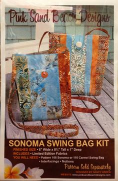 Quilting on the Square | Sonoma Swing Bag Kit
