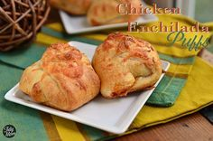 Turn chicken enchiladas into finger food! #recipe at TidyMom.net